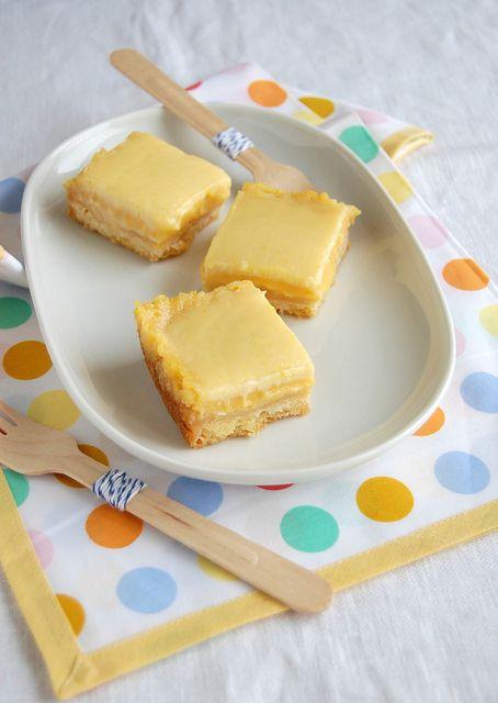 Orange cream bars