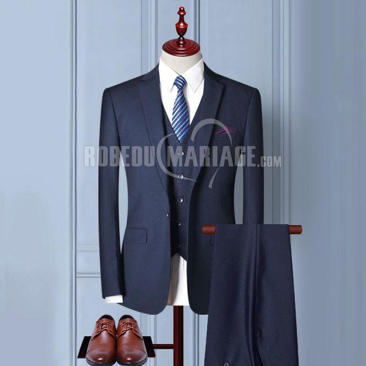2 ou 3 pièces Veste Pantalon Gilet avec 6 cadeaux gratuits Costume pas cher [#ROBE2013673] - robedumariage.com