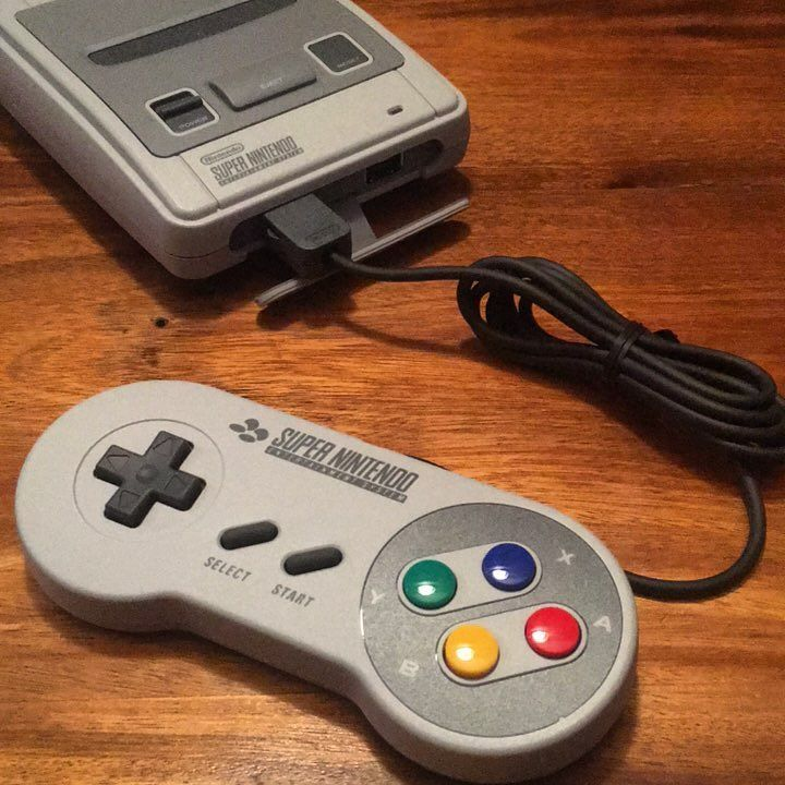 @loveamykeller has great taste in birthday presents!  #Nintendo #snes #snesmini #sneaminiclassic #videogames