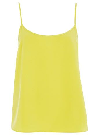 Chartreuse Plain Camisole