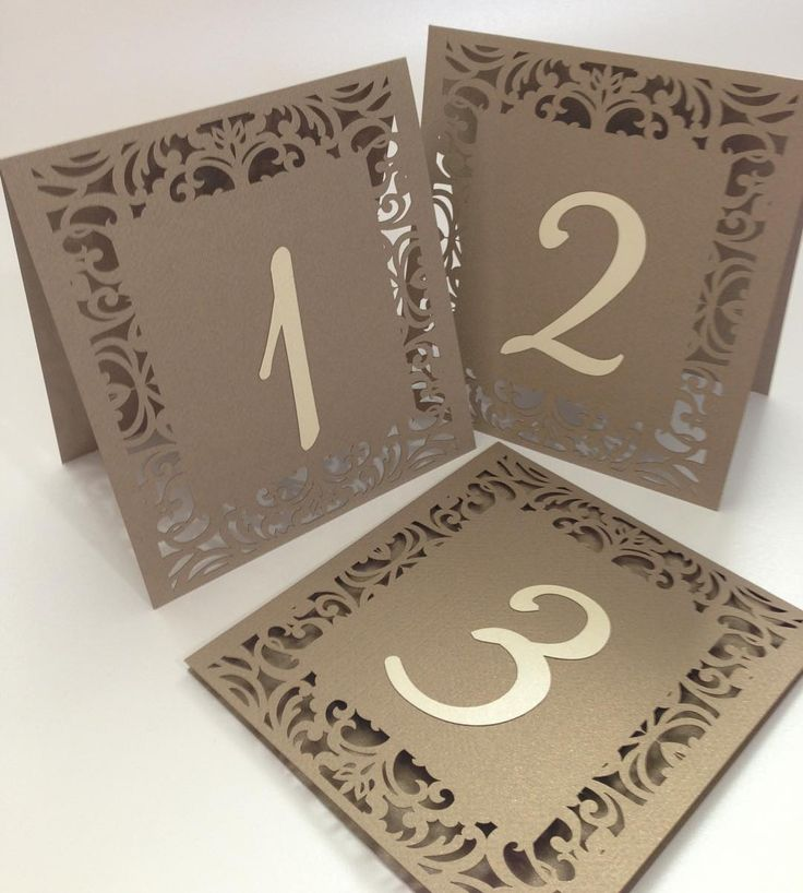 Numeros de mesa para eventos!! #tentcards #tablenumbers #lasercut #wedding #boda…