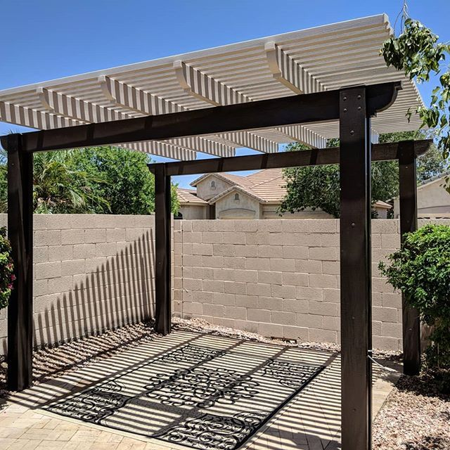 Did You Know Your Pergola Doesn T Have To Be Just One Color At Oasispatiocover We Offer Twotone Paint At No Additional C Pergola Pergola Cost Pergola Plans