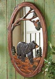 Image result for Black Bear Decor Rustic