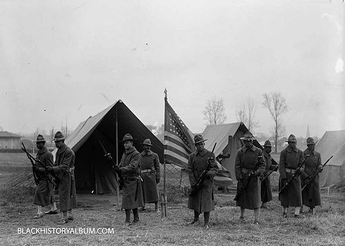 the contributions of the african americans in the american army during world war i Yet african americans still served in the us armed forces  a black brit who  served in the 2nd battalion royal scots fusiliers, during ww1,.