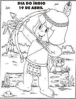 °o.O Arco-Íris O.o°: Atividades para o dia do índio