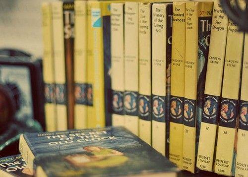 Loved Nancy Drew as a girl - long live Carolyn Keene!