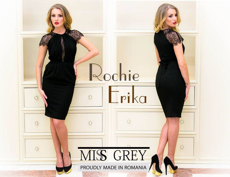 Little black dress with lace details: one of my favourite's Miss Grey's articles!