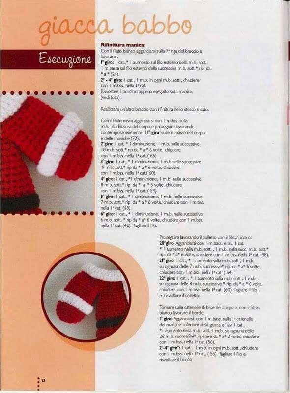 388 best Natale images on Pinterest | Christmas ornaments, Crochet ...