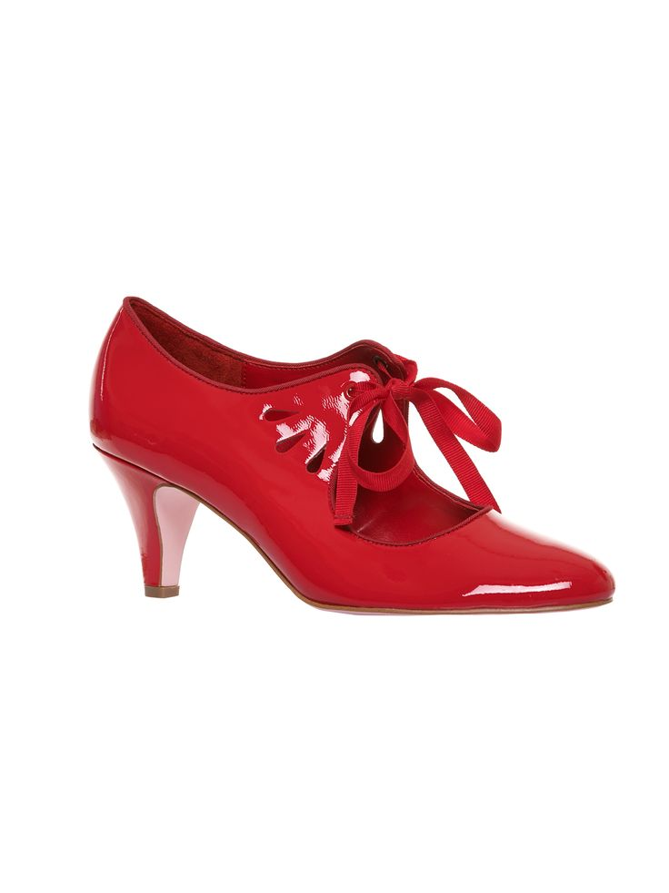 Mary Jane Shoe | Red | Shoes