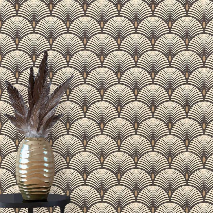 Best 25 vintage wallpaper patterns ideas on pinterest for Saint maclou papier peint