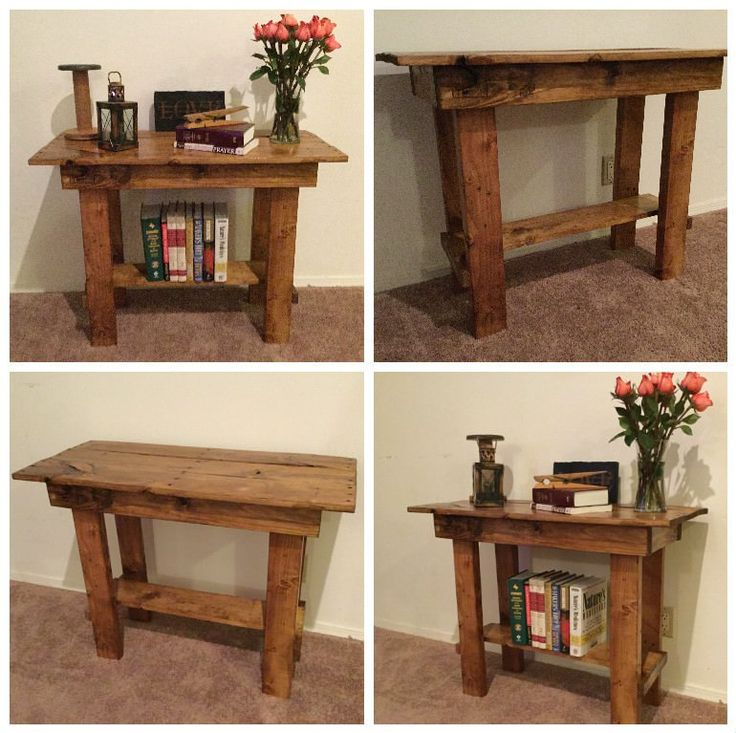 Pallet Entry Table Made From 1 Repurposed Pallet