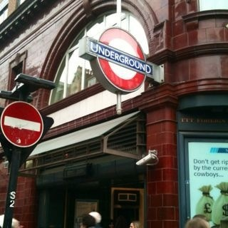 London.  Underground.