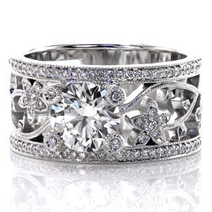 freesia minnesota wedding and engagement rings