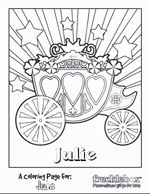 free personalized coloring pages would be great to have one with each kids name in the party theme