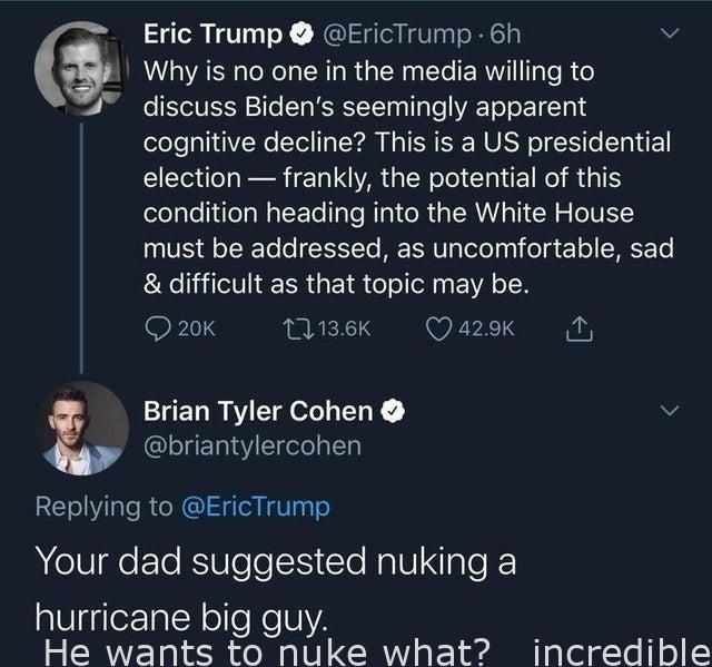 Insane He Wants To Nuke What Incredible Friends Funny Love Memes Whisper Funny