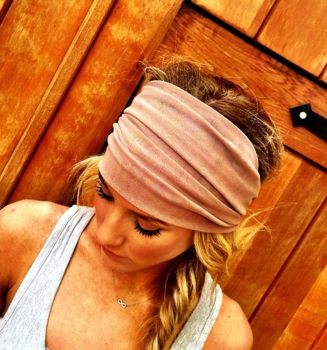 Harley headwraps for Women | Taupe Mesh Headband Head Wrap Women's Spring by ThreeBirdNest. $22.50 ...