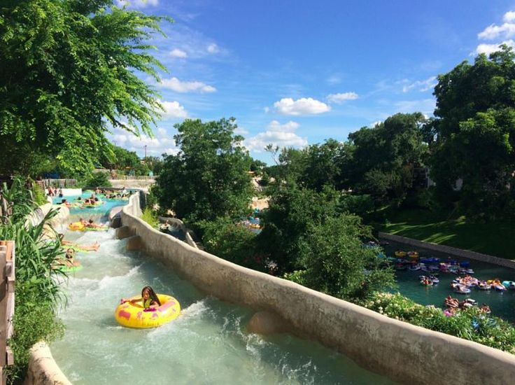 Playcation – Schlitterbahn New Braunfels Waterpark New Braunfels, Texas