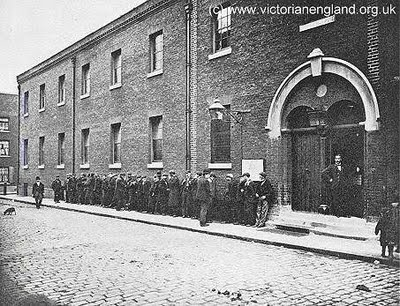 Whitechapel workhouse, God Bless Queen Victoria!