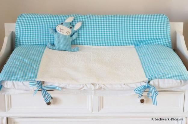 Wickelunterlage, changing pad, DIY, nähen, sewing, free tutorial, Gratisanleitung, freie Anleitung, Freebook