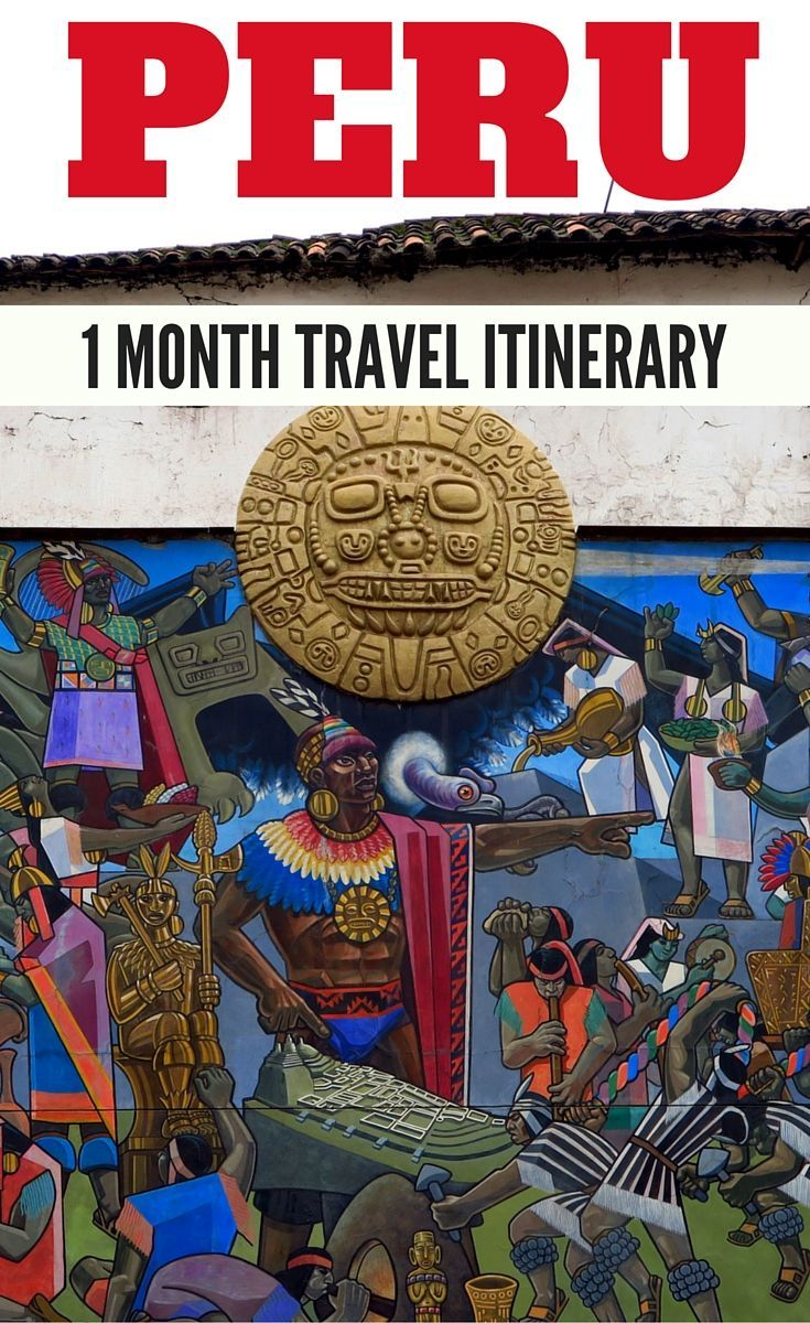 Peru Travel Itinerary - A complete itinerary showing you where to travel in Peru with 1 month in the country. Destinations include: Lima, Cuzco, Sacred Valley, Machu Picchu, the Inca Trail, Aguas Calientes, Puno, Lake Titicaca, Islas Ballestas, Paracas, Huacachina, Ica, Iquitos and the Amazon Rainforest.: