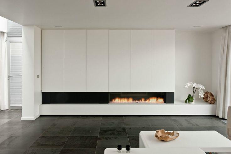... op Pinterest - Modern wonen, Luxe slaapkamers en Moderne tv muur