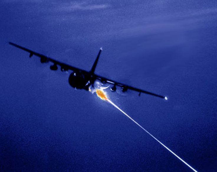 AC-130 spectre. Created during the Vietnam conflict. All started with 'I betcha we can fire that artillery piece from that plane'.: