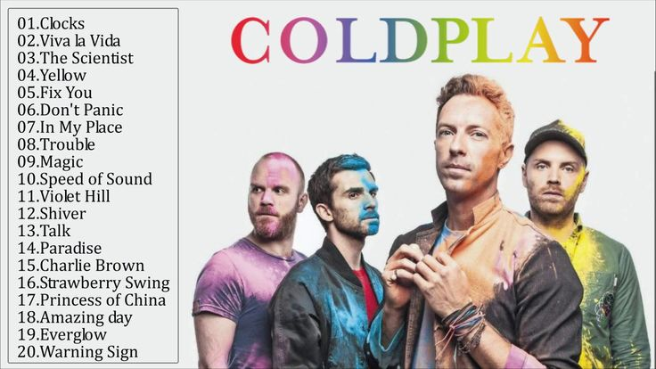 Coldplay Best Songs - Coldplay Greatest Hits Playlist 2017
