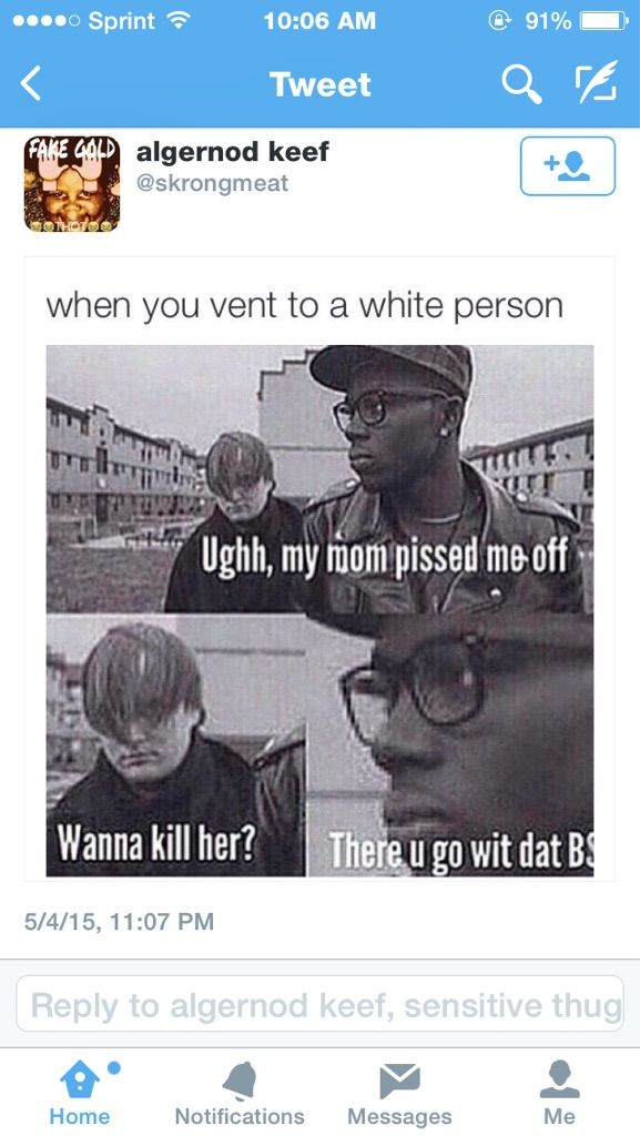 White people be like
