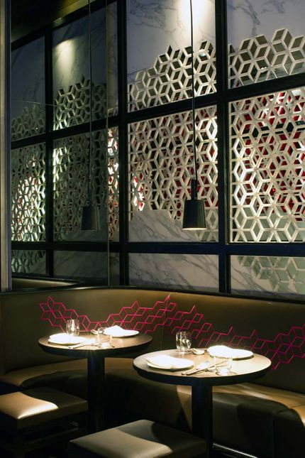 Hakkasan New York by FireFly Lighting Design