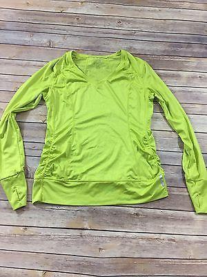 EUC Women's TANGERINE Active Athletic M Lime Green Shirt Size M Medium  | eBay