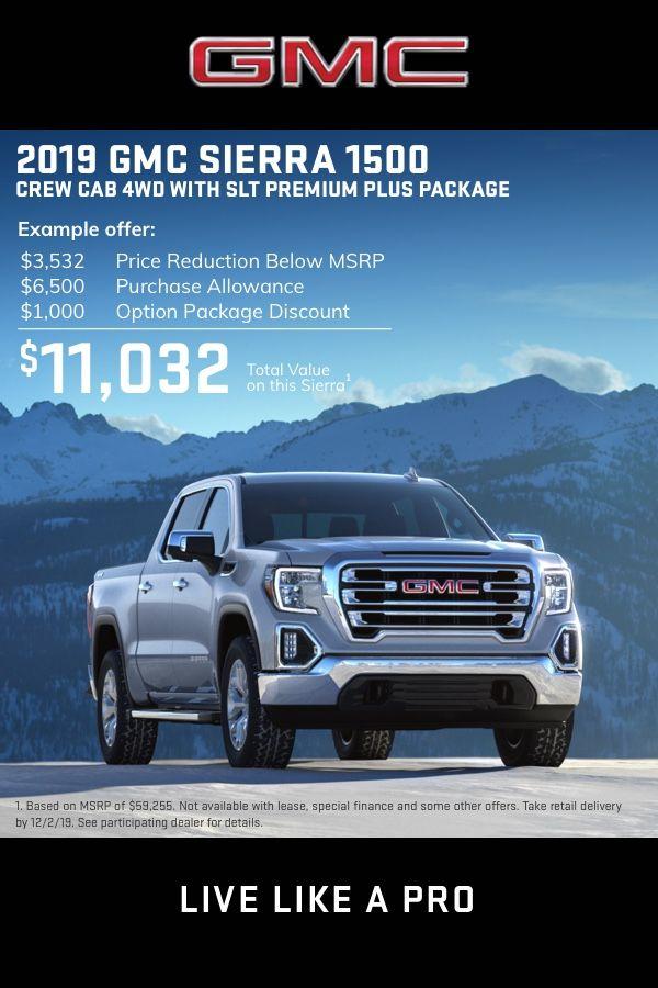 Current Deals Offers Incentives Gmc Trucks Suvs Suv