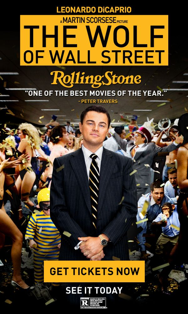 The Wolf Of Wall Street...... decent movie - saw it with the hubby, but at 3 hours, it was just way too long!
