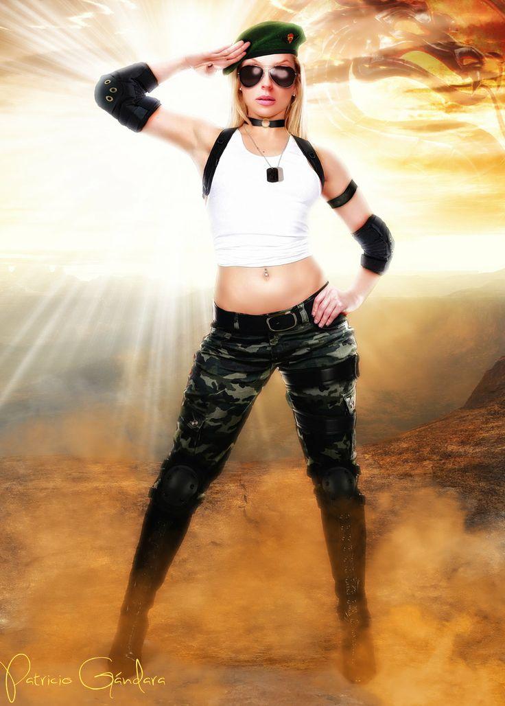 Sonya Blade by PGandara.deviantart.com on @deviantART