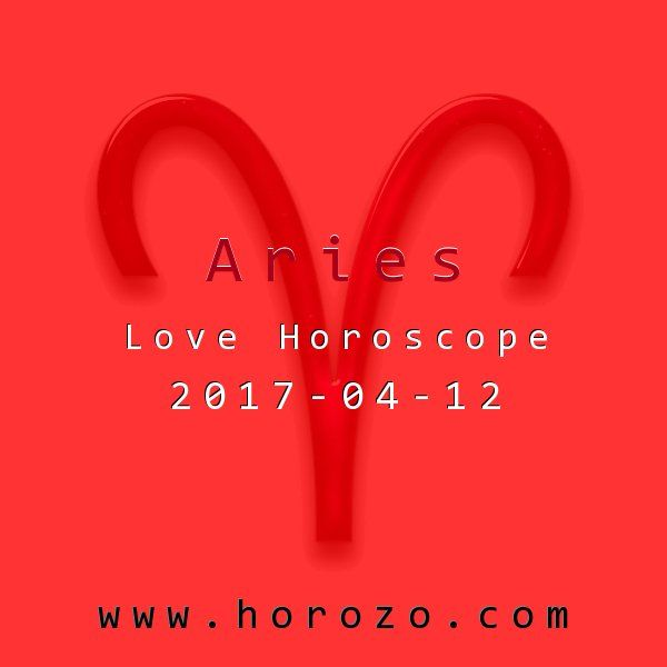 Aries Love horoscope for 2017-04-12: The best thing you have going for you now is time. Time to do whatever the heck you want. So forget about cleaning up or being presentable. Just hang out and do whatever you want: that's the beauty of flying solo!.aries
