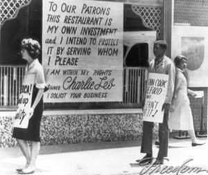 civil rights movement in america 1960s   birmingham protest in this photograph taken in august 1963 protestors ...