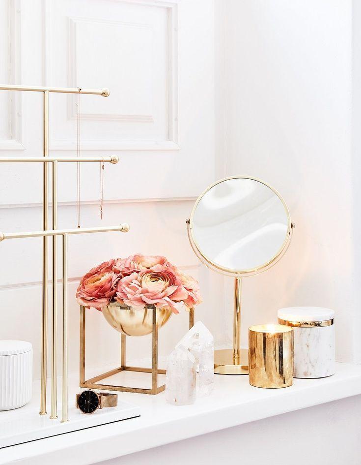 Deko Dekoration Vase Schale Blumen Ideen Tablett