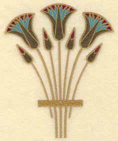 flor de loto en el arte egipcio - Búsqueda de Google