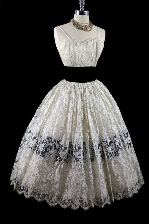 Vintage Lace Dress - Shop for Vintage Lace Dress at Polyvore