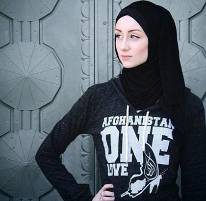 """detikcom on Twitter: """"Hijab Style: Kendyl Aurora, Model Hijab ..."""