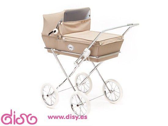 #carritosmuñecas #cochecitosmuñecas Cochecitos de muñecas Arrue - Carrito Prestigio JR. París www.disy.es
