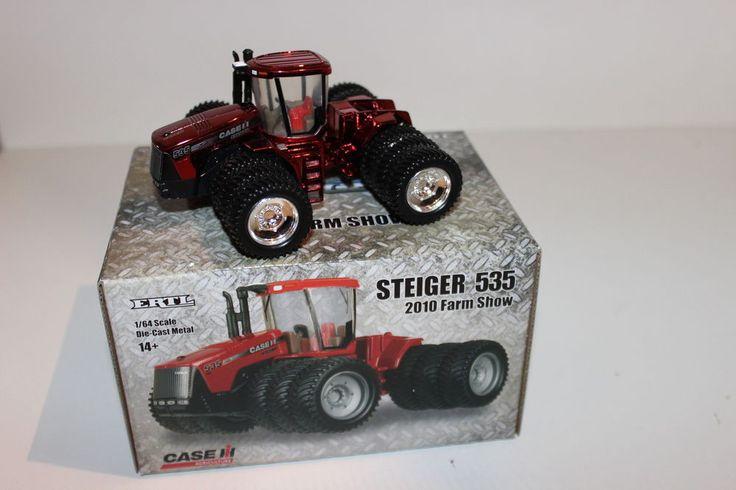 Ertl 1/64 Case IH Steiger 535 Chrome Chaser 2010 Farm Progress Show Tractor NIB #Ertl #CaseIH