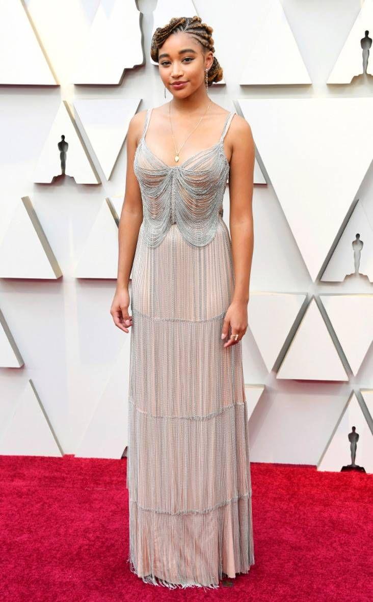 2019 Oscars Red Carpet Fashion Amandla