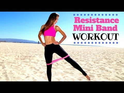 This full body at home resistance band workout will help you burn fat and build muscle in no time! Working out at home with a resistance band is super easy d...