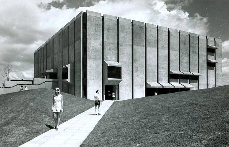 Robin Gibson, Central Library, University of Queensland, Brisbane, Australia, 1973.