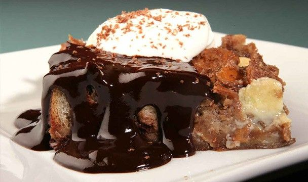 Bread Pudding with Two Chocolates : Cooking with Nick Stellino : The Home Channel