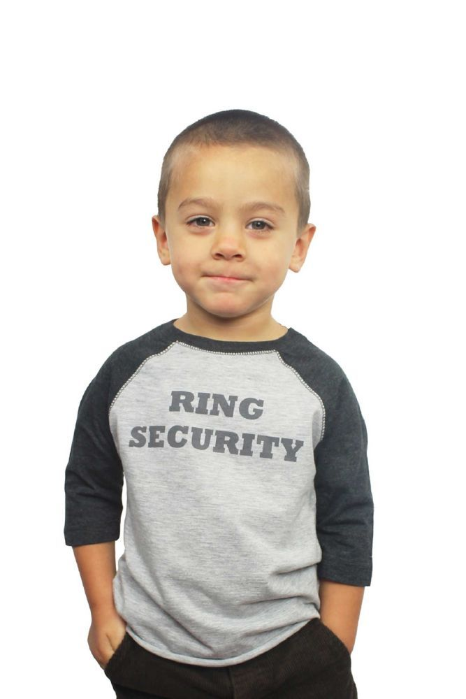 Ring Security Shirt - White, 5/6