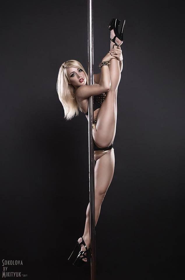 nude sexy stripper pole