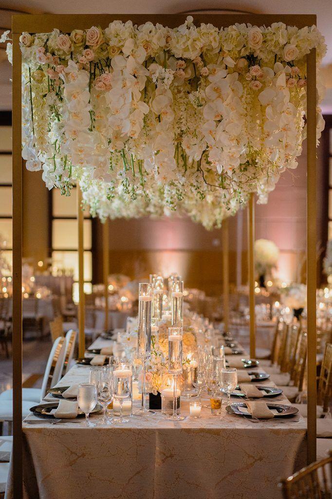 Shama Manan Mo Miami Wedding By Divine Method Photography Gold Wedding Decorations Indian Wedding Decorations Miami Wedding Reception