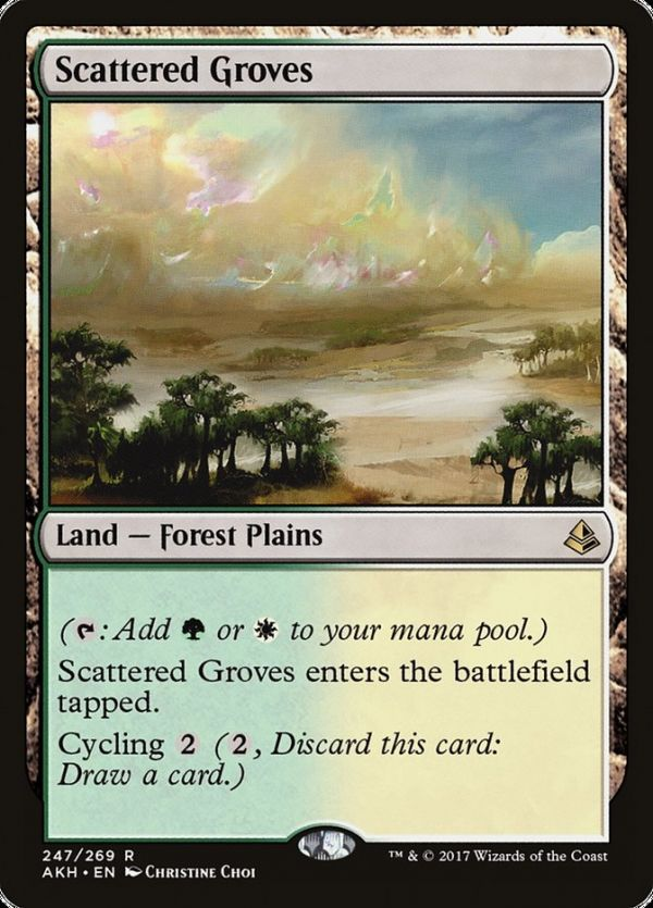 Scattered Groves Magic The Gathering Cards Magic The Gathering Store Wizards Of The Coast