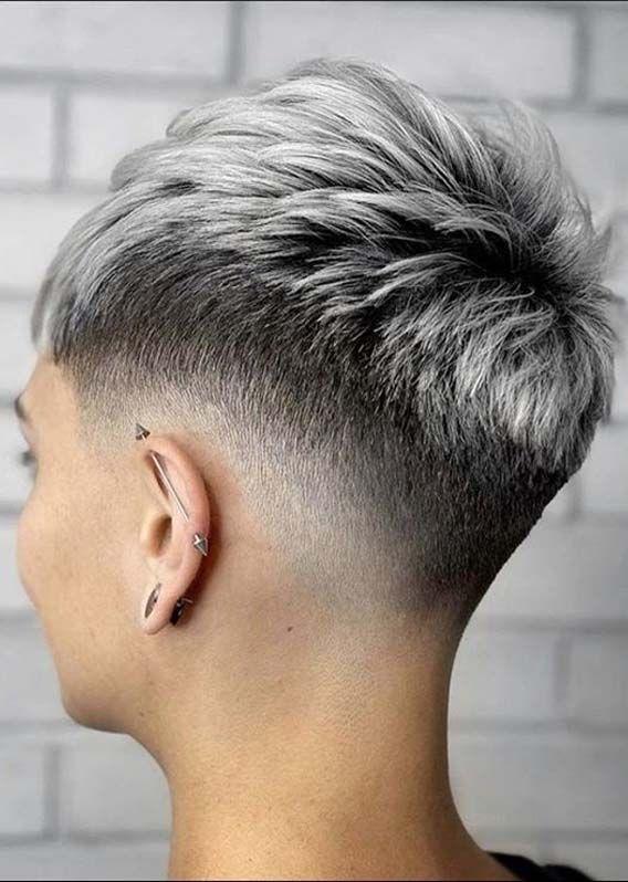 Fantastic Pixie Haircuts For Short Hair Women In 2020 Absurd Styles Super Short Hair Short Hair Styles Very Short Hair